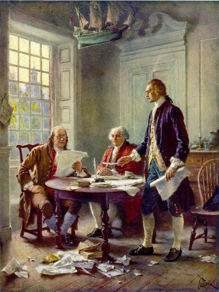 Franklin, Jefferson, Adams