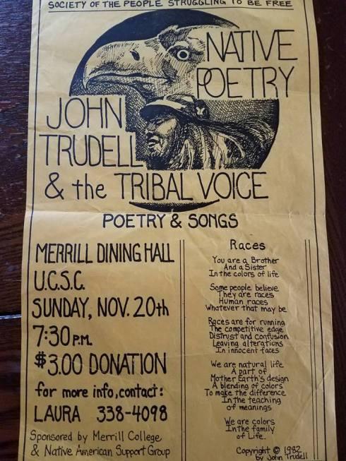 John Trudell poster