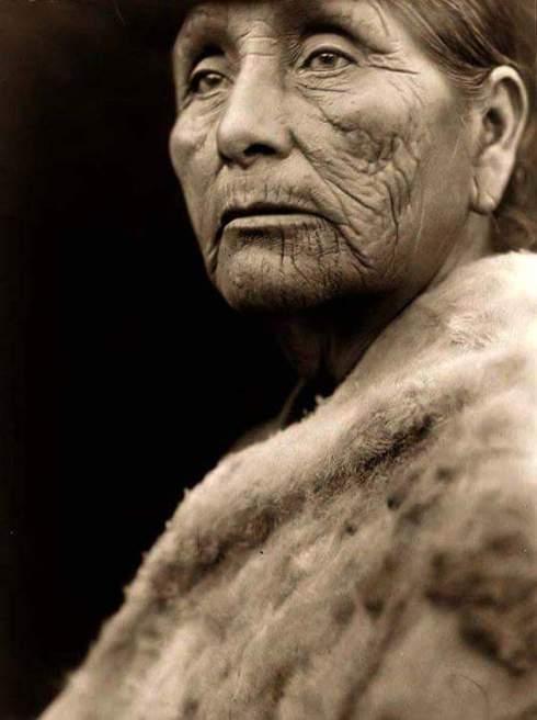 Hoopa woman 1926
