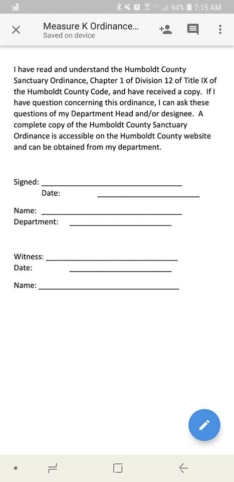 county measure k form
